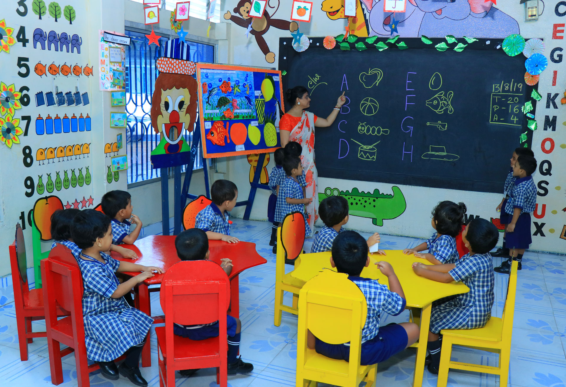 primary education in barrackpore